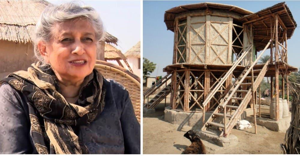A los 80 años construye más de mil casas ecológicas para las familias más necesitadas
