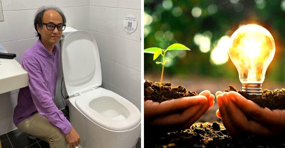 Diseña un inodoro que transforma los desechos humanos en combustible ecológico