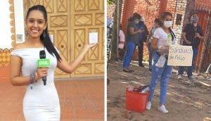 La reportera humillada por vender comida en la calle respondió diciendo: «Vergüenza es robar»