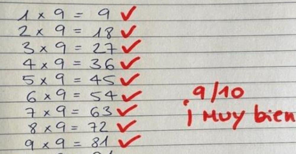 Un profesor se equivoca intencionalmente para hacer reflexionar a sus alumnos