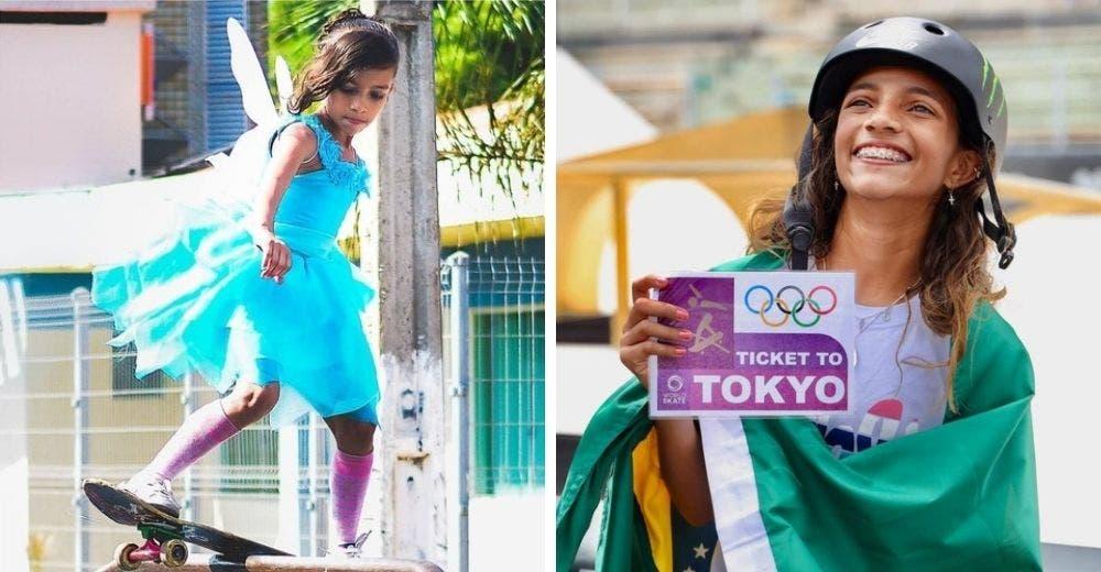 Una medallista olímpica de apenas 13 años celebra su triunfo porque jamás dejó de soñar