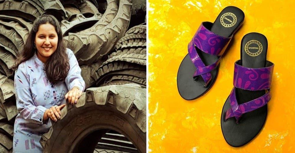 Vende 1.000 pares de zapatos reciclando más de 400 kilos de neumáticos