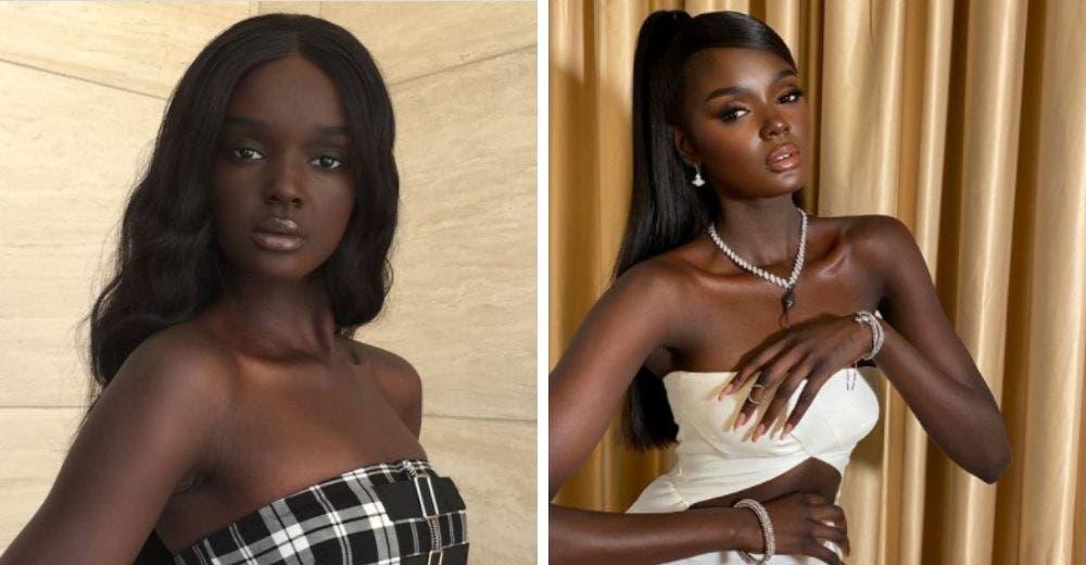 """Joven modelo apodada la """"Barbie de color"""" rompe cualquier prejuicio de belleza"""