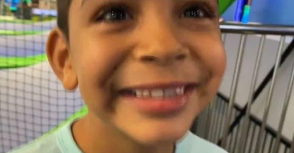 «Limpio mi habitación y lavo los platos» – Un niño de 6 años pide ser adoptado