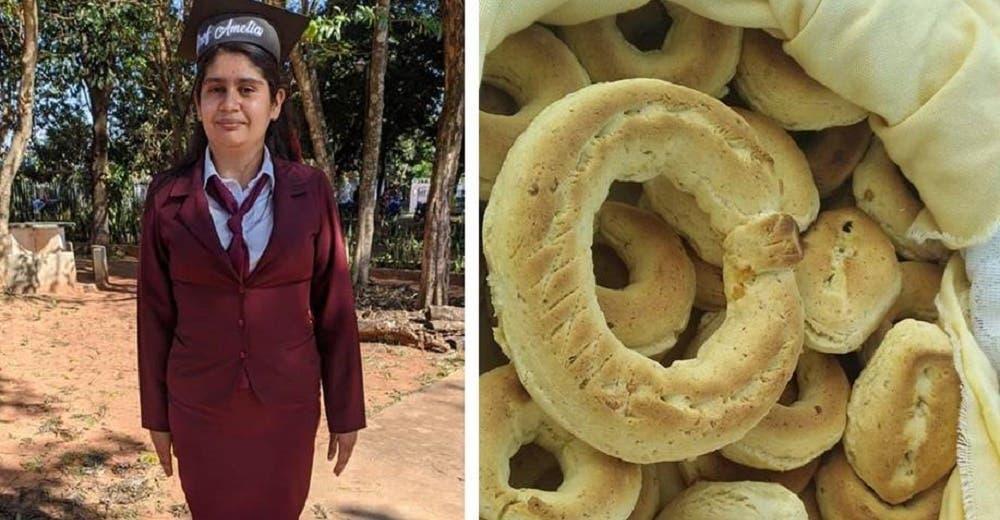 Una joven madre que vendía pan para costear sus estudios cumple su sueño de ser maestra