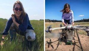 Una joven desarrolla una serie de drones capaces de reforestar y sembrar 100 mil árboles por día